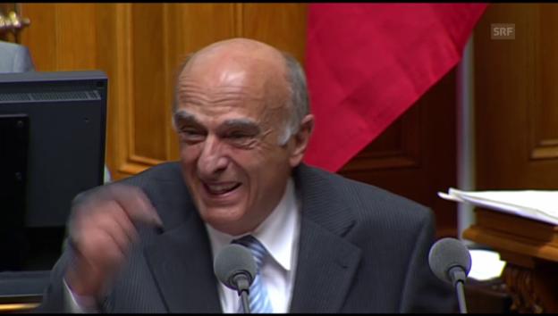 Video ««Schweizer Politik zum Lachen» von René Hildbrand» abspielen