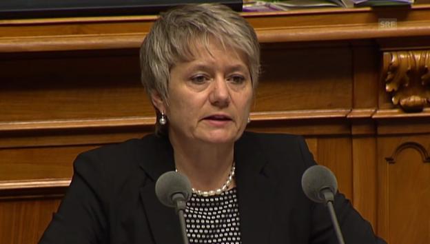 Video «SP-Nationalrätin Fehr vermisst die Menschenrechte im Vertrag» abspielen