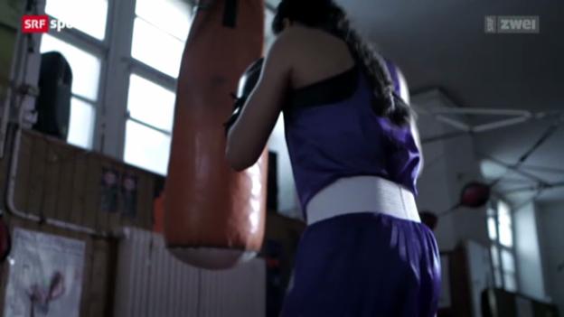 Video «Die bewegende Geschichte der Boxerin Rola El-Halabi» abspielen