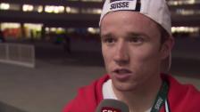 Video «Mathias Flückiger: «Wir sind ein bisschen erschrocken übe die Temperaturen»» abspielen