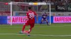 Video «St. Gallen gibt Sieg in Thun aus der Hand» abspielen