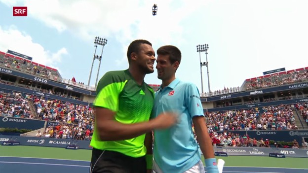Video «Tennis: ATP Toronto: Djokovic-Tsonga» abspielen