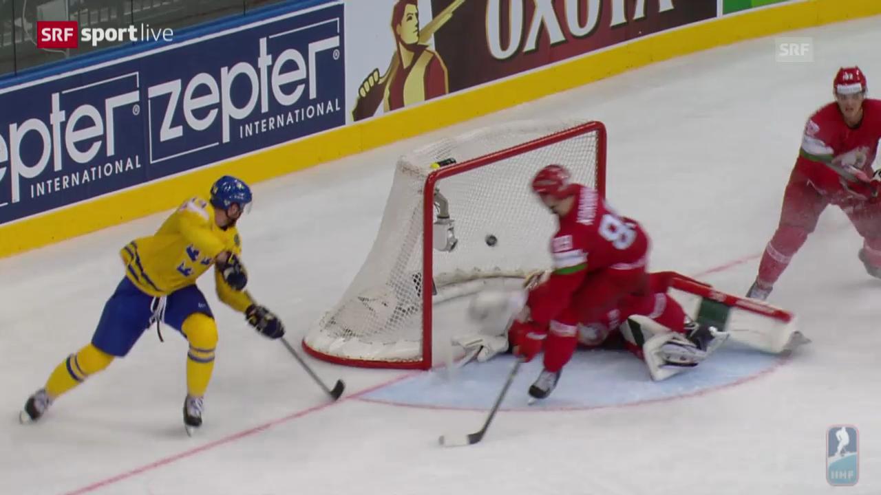 Eishockey: Schweden - Weissrussland