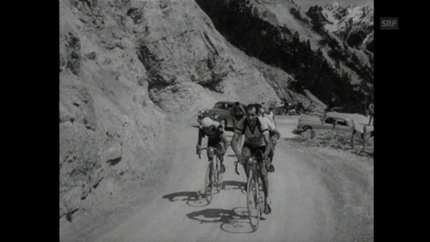 Video «1951 muss Bartali den Schweizern den Vortritt lassen» abspielen