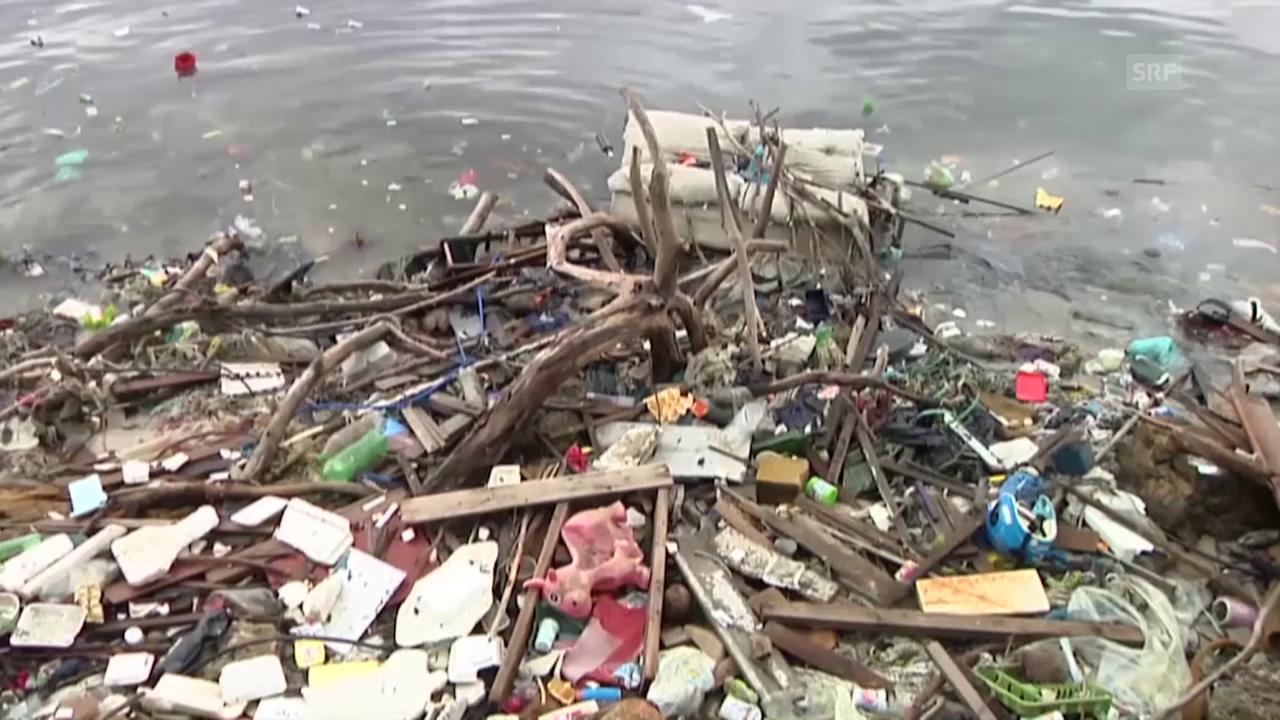 Olympia: Starke Verschmutzung der Guanabara-Bucht.