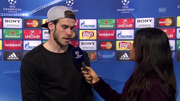 Video «Bale: «Das war ein schwieriger Test» (in englisch)» abspielen