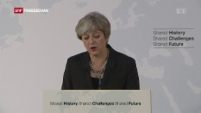 Video «Theresa May fordert Übergangsphase an» abspielen
