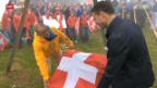 Video «Langlauf: Dario Cologna auf der Älggialp» abspielen