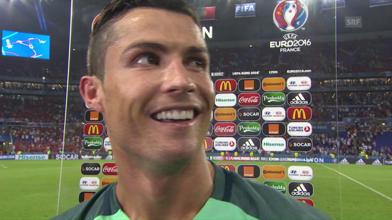 Ronaldo: «Wir haben immer daran geglaubt»