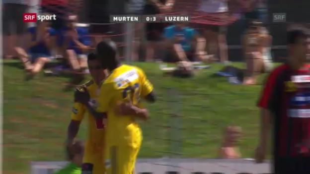 Video «Cup: Murten-Luzern («sportpanorama»)» abspielen