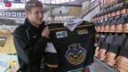 Video «Eishockey: Damien Brunner in Lugano vorgestellt» abspielen