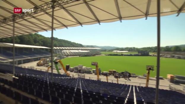 Video «30 Tage vor dem ESAF («sportaktuell»)» abspielen