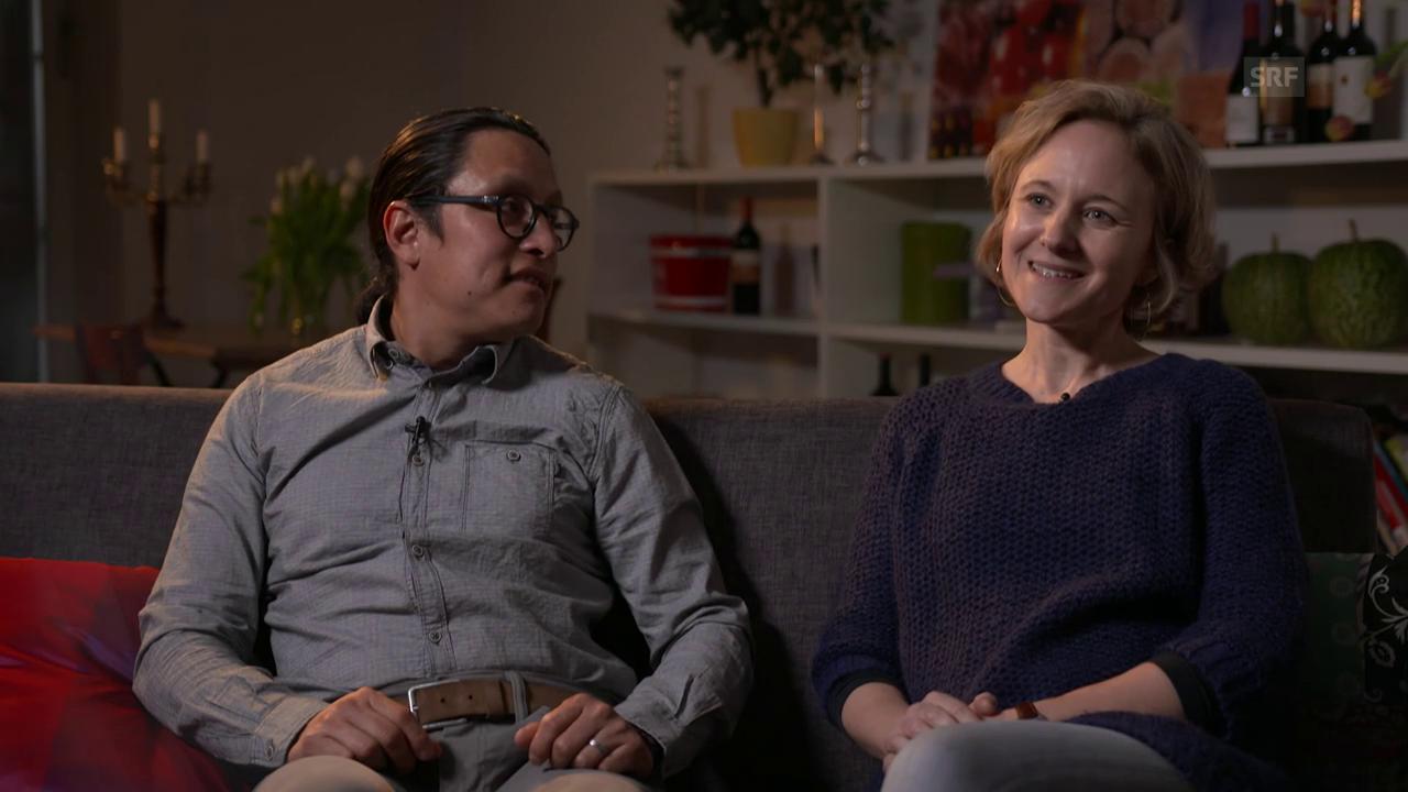 Annette und Hugo: «Avocado, Koriander und Tortillas halfen gegen Heimweh.»