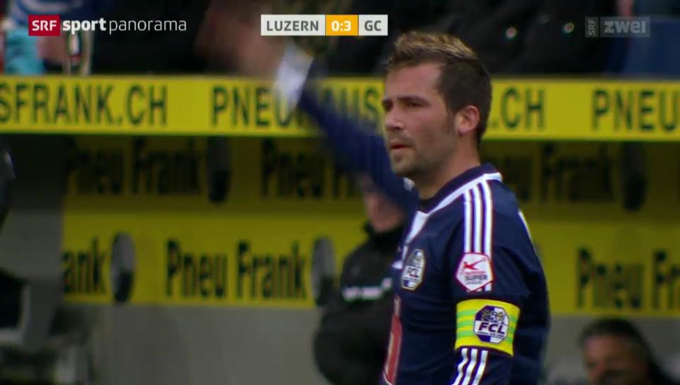 Rengglis letzter Treffer für Luzern