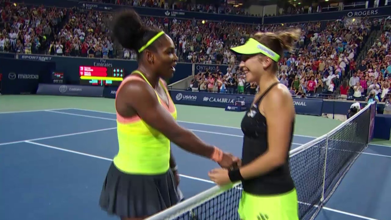 Tennis: S. Williams - Bencic, Matchball