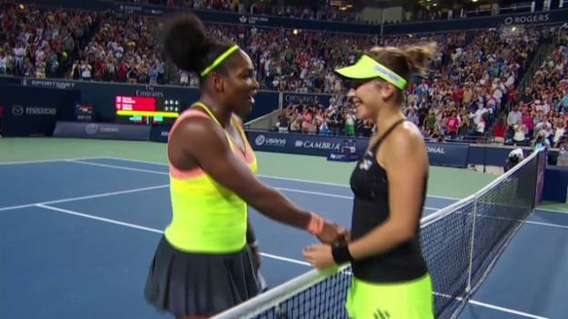 Video «Tennis: S. Williams - Bencic, Matchball» abspielen