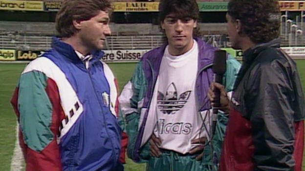 Video «Fussball: Zamorano im Interview» abspielen