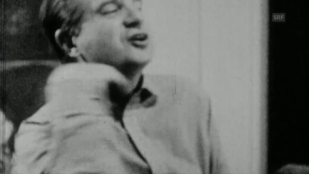 Video «Was fürchtet Francis Bacon? (3.5.1967, Ausschnitt 2)» abspielen