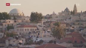 Video «US-Botschaft nach Jerusalem?» abspielen