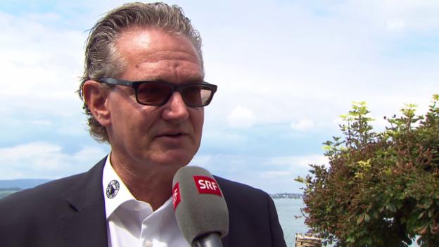Video «SCB-COO Rolf Bachmann über den neuen CHL-Modus» abspielen