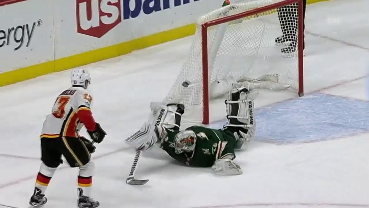 Gaudreaus Penalty gegen Minnesota