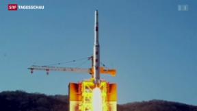 Video «Nordkorea testet Langstreckenrakete» abspielen