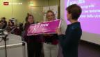 Video «Sommaruga prüft Massnahmen für Lohngleichheit» abspielen