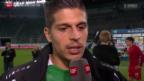 Video «Fussball: Stimmen zu St. Gallen - Thun» abspielen