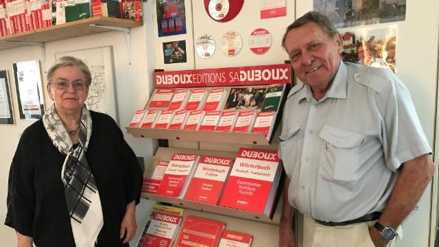 Per tadlar: l'istorgia d'amur da Marianne e Jean-Pierre Duboux