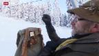 Video «Letzte Vorbereitungen vor dem Wochenende am Haldigrat» abspielen