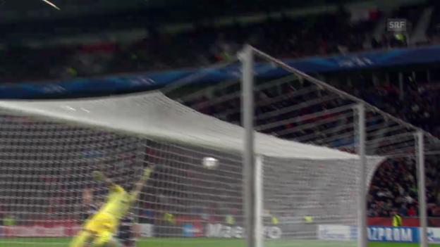 Video «Fussball: Leverkusen - R.S. San Sebastian» abspielen
