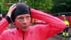 Video «Lehmanns Olympiatraum platzt im Regen von Zürich» abspielen