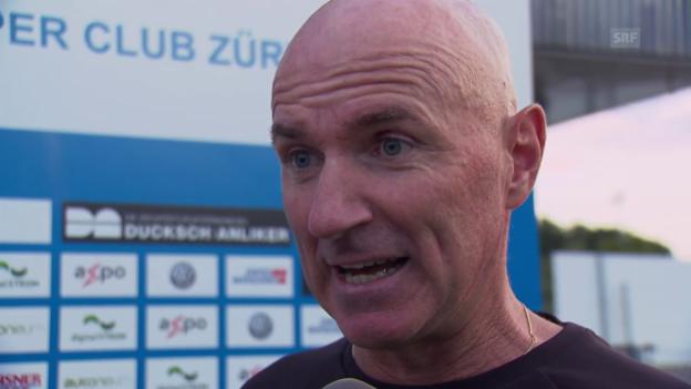Video «GC-Coach Bernegger: «Neuzugänge sind eine Bereicherung»» abspielen
