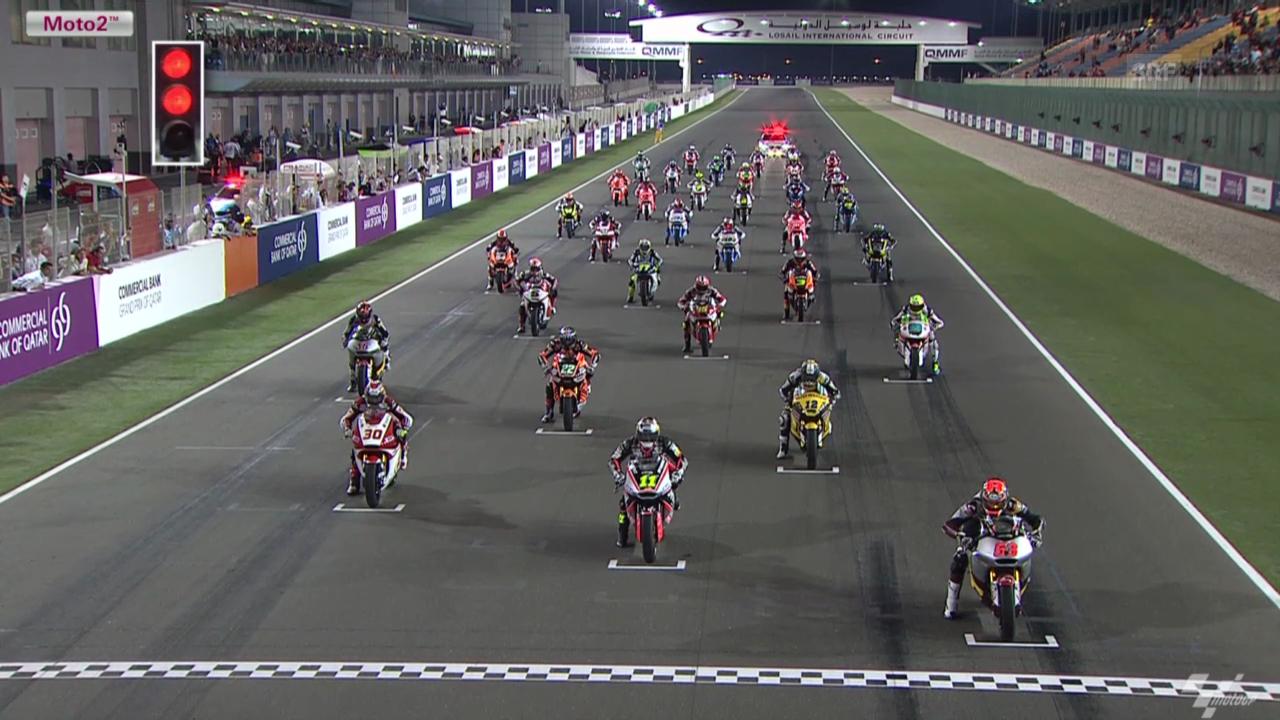 Motorrad: Highlights GP von Katar, Moto2