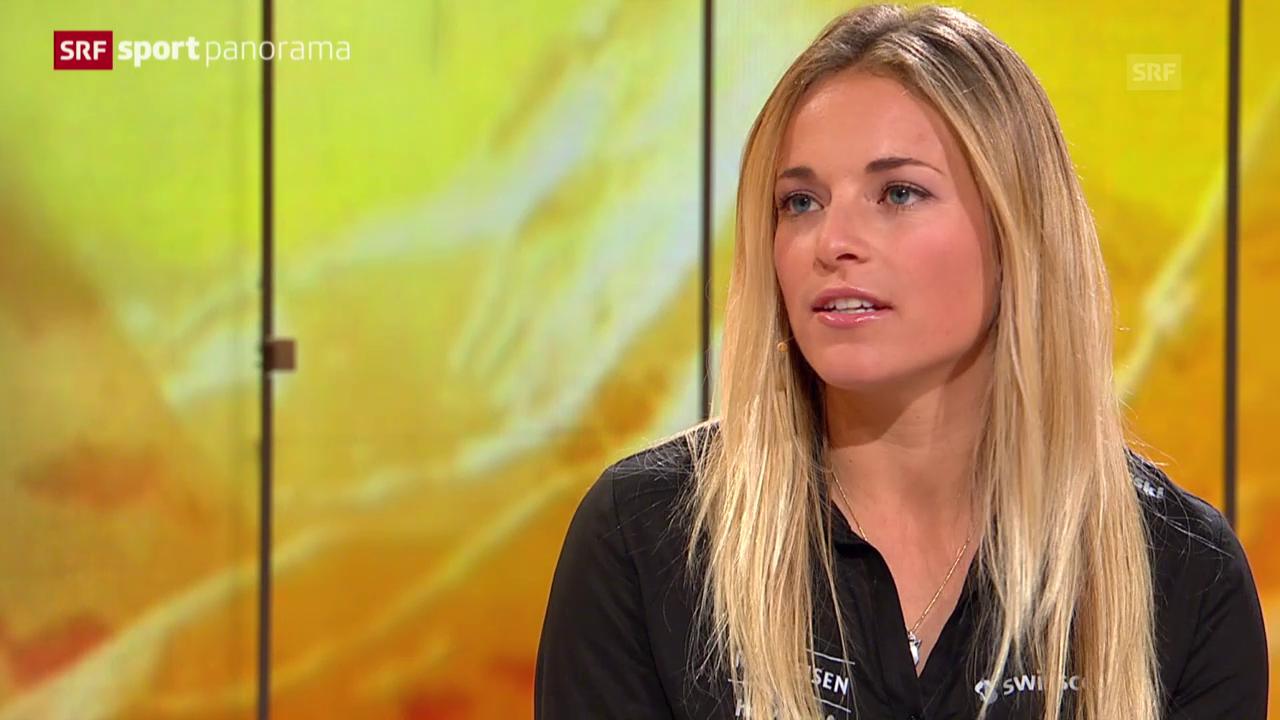 Ski Alpin: Lara Gut über den Riesenslalom