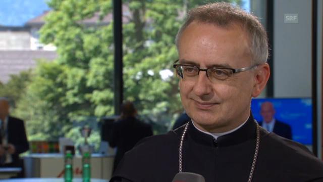 Martin Werlen, Abt des Klosters Einsiedeln
