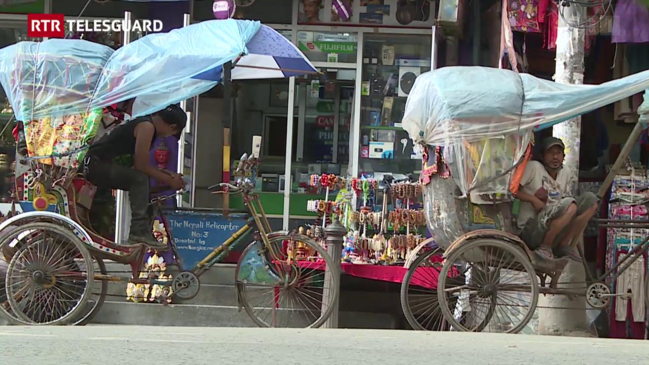 Ils turists mancan al Nepal suenter ils terratrembels