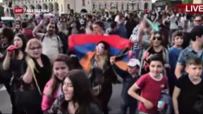 Video «Armeniens Regierungschef tritt zurück» abspielen