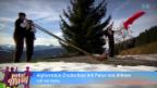 Video «Alphornduo Chuderhüsi mit Peter von Allmen» abspielen