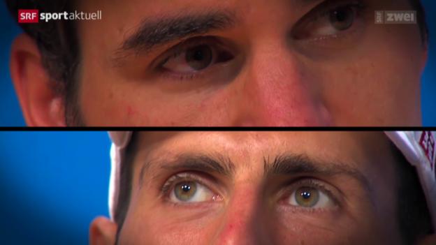Video «Vorschau auf den Australian-Open-Halbfinal Roger Federer - Novak Djokovic» abspielen
