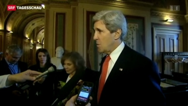 Video «Kerry als Aussenminister vereidigt» abspielen