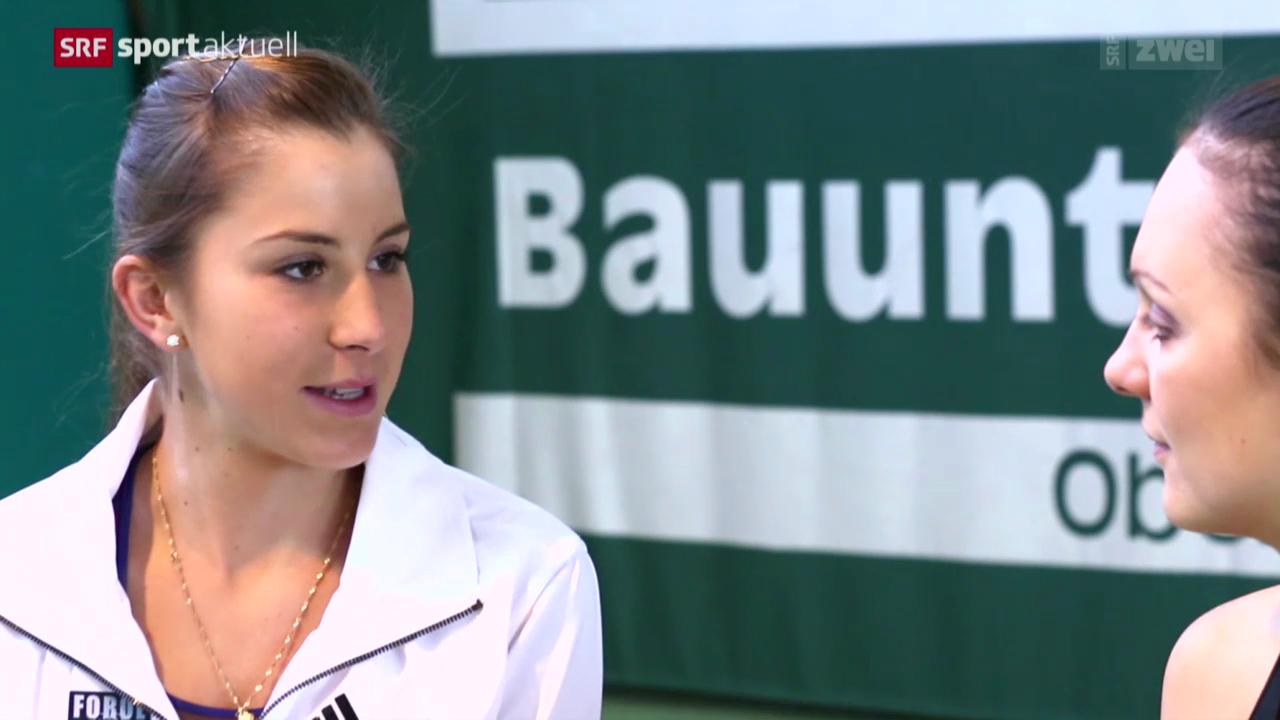 Sports Awards: Die Newcomerin Belinda Bencic