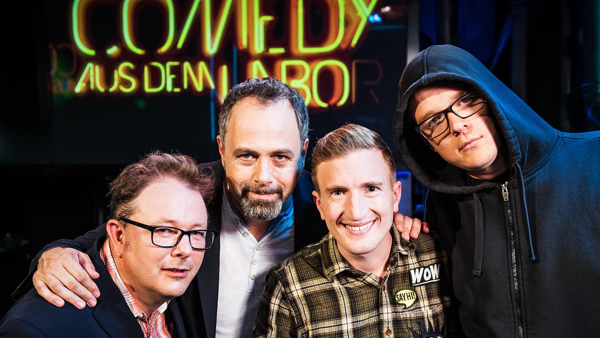 Mit Stefan Büsser, Nico Semsrott und Stefan Heuss