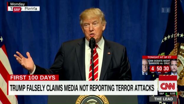 Video «Trump und die Wahrheit» abspielen