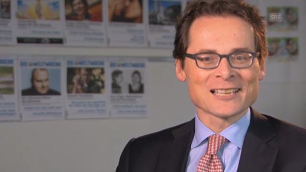 Video «Roger Köppel findet Raus Projekt «den Gipfel der Intoleranz.»» abspielen