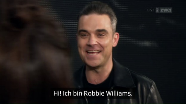 Video «Die Eröffnung mit Robbie Williams» abspielen