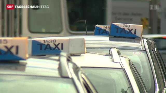 Zürcher Taxifahrer streiken