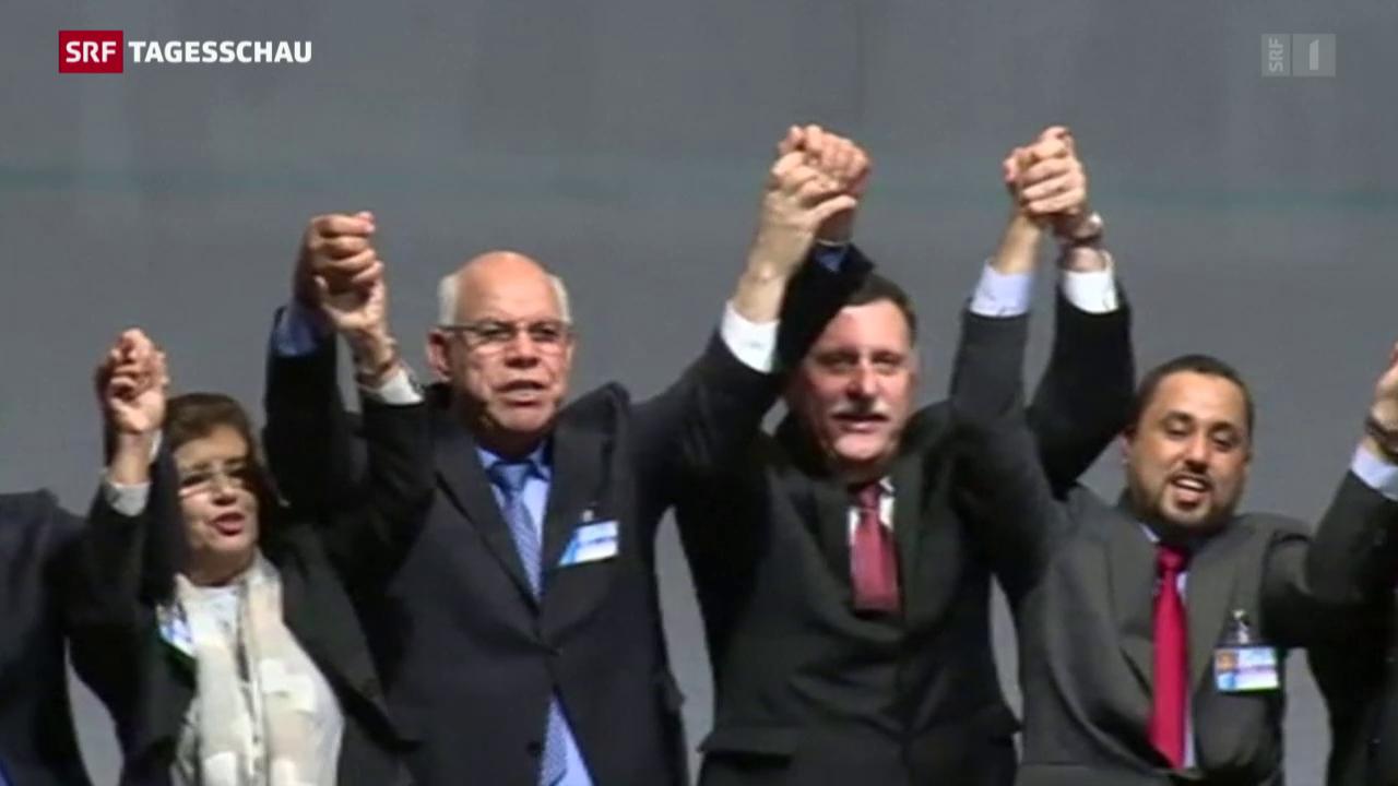 Konfliktparteien in Libyen einigen sich auf Friedensplan