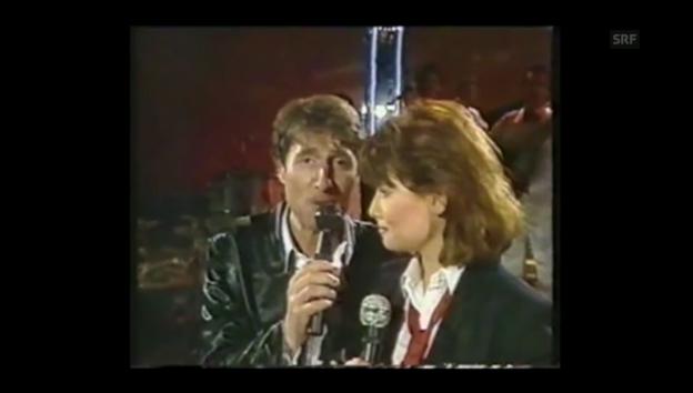 Video «Udo Jürgens zusammen mit seiner Tochter Jenny, 1984: «Liebe ohne Leiden»» abspielen