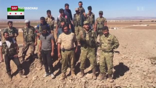 Video «Islamischer Staat aus Dabik vertrieben» abspielen